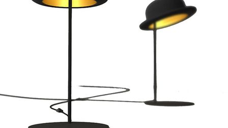 What ho! The Jeeves Bowler Hat Table Lamp is a special design from Jake Phipps and features a tradit