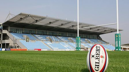 Sandy Park will play host to three Rugby World Cup matches in 2015
