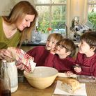 Jane Smith and boys, Justin (5), Lewis (7) and Ryan (7)