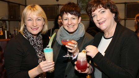 Angela Powers, Kate Squire and Jacqueline Hughes-Lundy