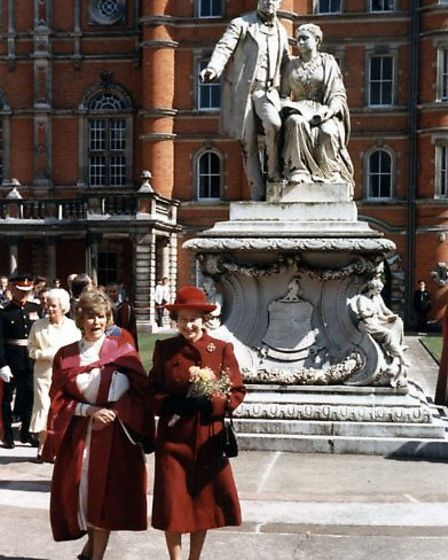 The Queen last visited in 1986 following the merger of Royal Holloway and Bedford Colleges
