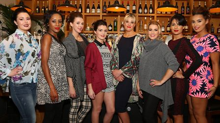 Models at The Didi's Boutique Fashion Show