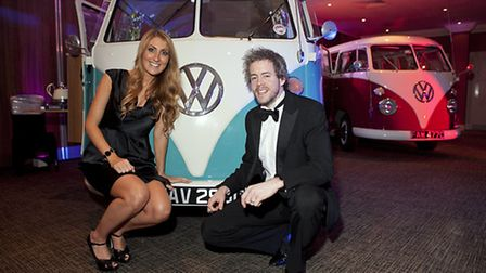 Guests with a VW van from Nostalgic Campers
