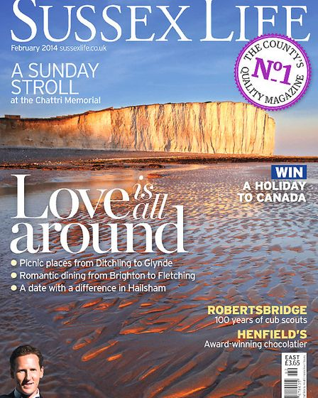 Sussex Life February 2014 cover
