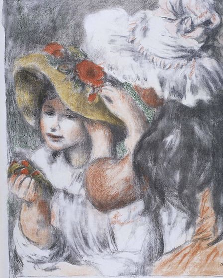 The Hat-pin by Pierre-Auguste Renoir - Victoria and Albert Museum, London
