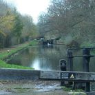 View from one of the locks