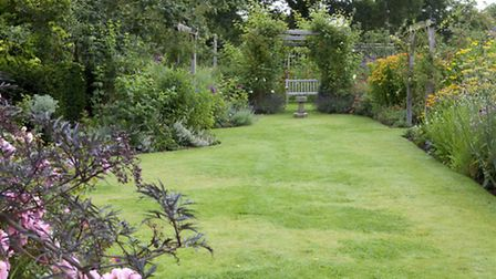 Leydens, beautiful garden of Roger Platts, head judge of the Kent Life Garden of the Year Awards