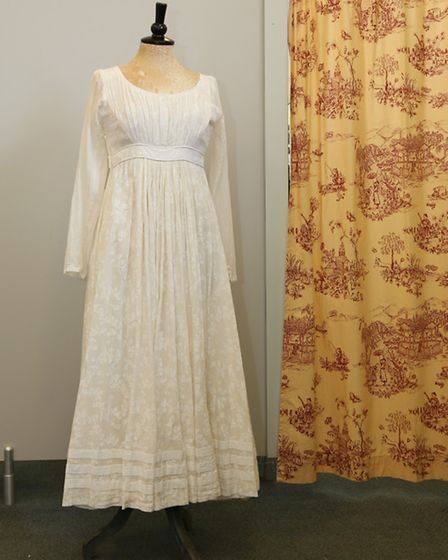 The costume worn by Maxine Peake in The Masque of Anarchy