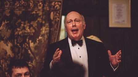 Lord Fellowes regales the audience