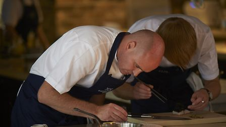 Aidan Byrne is head chef at Manchester House