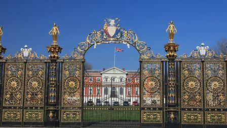 Golden Gates and the Town Hall