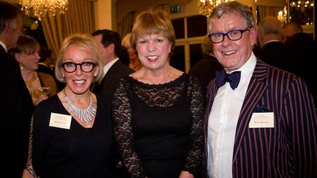 Pictured left to right Sonia Meaden, owner, Moorland Garden Hotel; Sue Hobbs, Chair of The Primrose