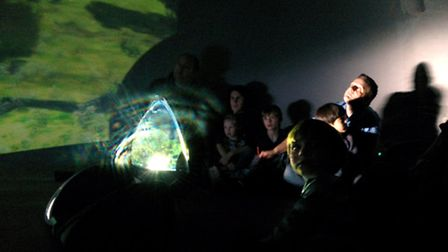 The Discovery Dome at a recent preview // Photo: © John Tredinnick