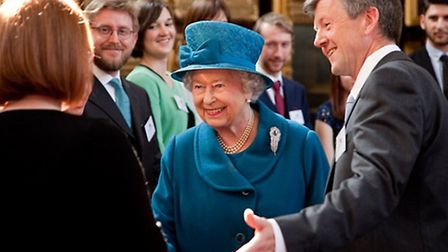 The Queen visits Royal Holloway