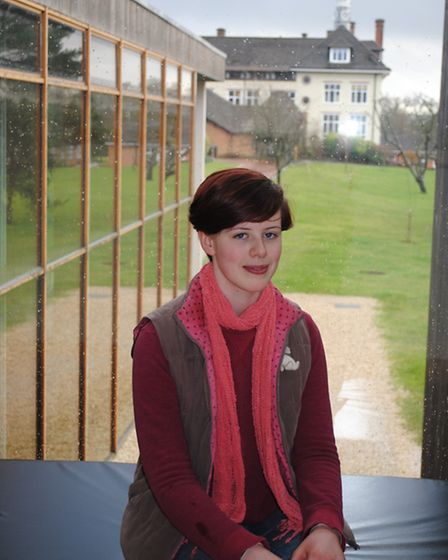 Bedales student Ally Swain