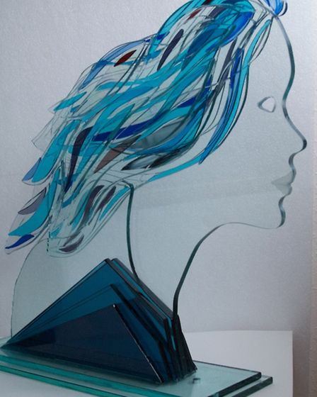 Girl with blue hair by Peter Newsome (Photo: Peter Newsome)