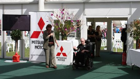 Book a day out at Badminton Horse Trials in the luxury of the Mitsubishi Motors hospitality marquee
