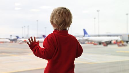 'For years the children have been begging to go on an aeroplane, and I could almost feel the sun on