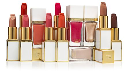 The Tom Ford spring 2014 colour collection includes eight new sheer lip colours, £36 and four new na