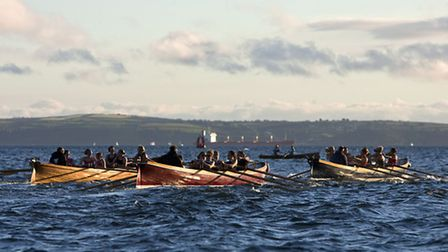 Pilot gig rowing is a popular sport