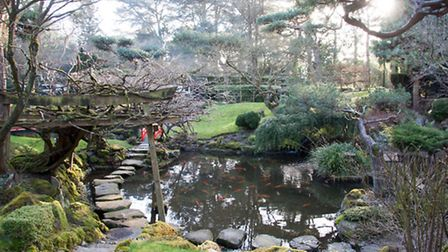 The garden is considered one of the best Japanese-styled gardens in the country