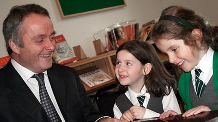 He might be the headmaster, but Adrian Perks still enjoys sharing his enthusiasm for maths with his