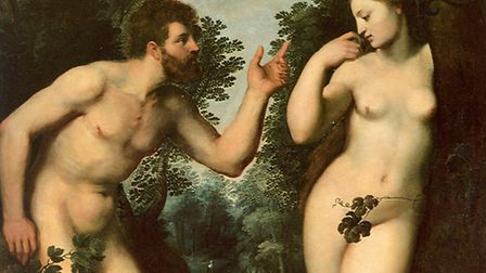 Adam and Eve by Rubens