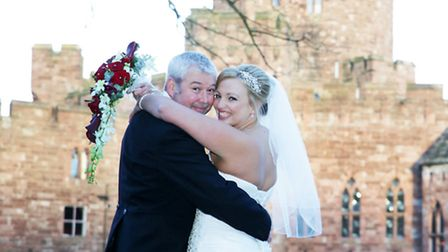 Edwards and Cope - The wedding of Karen Edwards and Graham Cope, took place at Peckforton Castle, Ta
