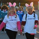 Walkers from last year's Charity walk