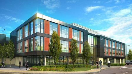 The 101 and 102 development will be completed in May, providing 55,000 sq ft of Grade A office accom