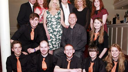 Staff: (front row, left to right) Tim, Jimmy, Ben, Shannon, Harriet (middle row) Jake, Richard, Zofi