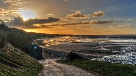 Wirral to the left of me, North Wales to the right - Andrew Robinson