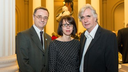 David Fleming, Director of National Museums Liverpool, Sandra Penketh, Director of Art Galleries and