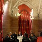 Tim Parry Johnathan Ball Foundation for Peaces private dinner, Peckforton Castle
