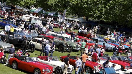 Haslemere Classic Car Show 2014