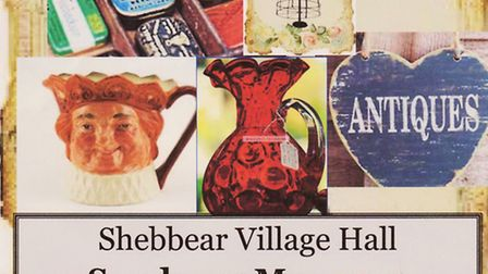 Shebbear Village Hall will host an antiques fair in May