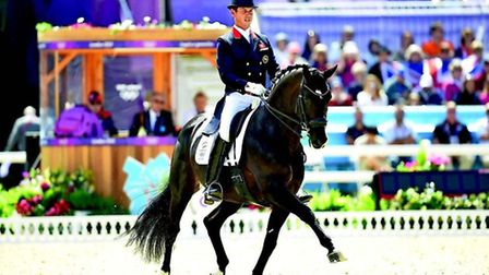 Carl Hester riding Uthopia in London