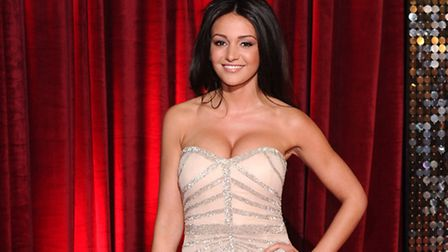Michelle Keegan British Soap Awards, Manchester. Photo by David Fisher/REX