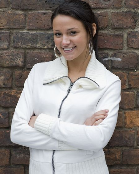 Michelle Keegan as Tina McIntyre in Coronation Street.