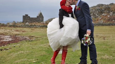 Doodson and Smith - The elopement of Donna Doodson and Jake Llewellyn Smith took place on a wild bea