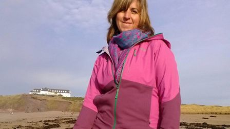 Esther Pearson, Business Development Manager for the South West Coast Path Association
