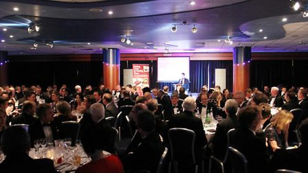 Guests take their suites for the annual WESCA Gloucestershire dinner
