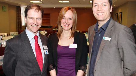 Speakers at the event, Jim Glanville and Sam Deeley from Cirrus and Leigh Stallard from Xero