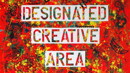 Designated Creative Area by Cleo Carruthers