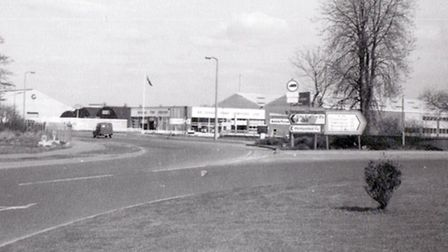 The A38. Picture taken by Elvin Young in April 1968