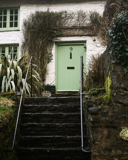 Picture perfect cottages in Bucks Mills