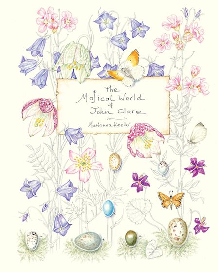 Front cover to 'The Majical World' of John Clare