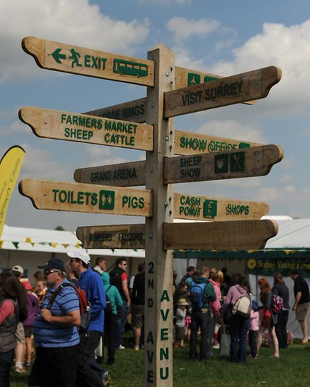 All roads lead to Surrey County Show