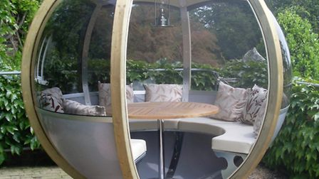 Farmer's Cottage Rotating Sphere Seater from John Lewis