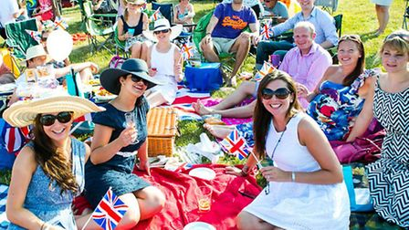 Summer picnic at The Battle Proms